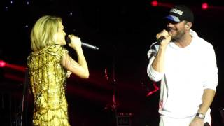 Carrie Underwood & Sam Hunt - Heartbeat (Live) C2C London O2 12 / 03 / 16