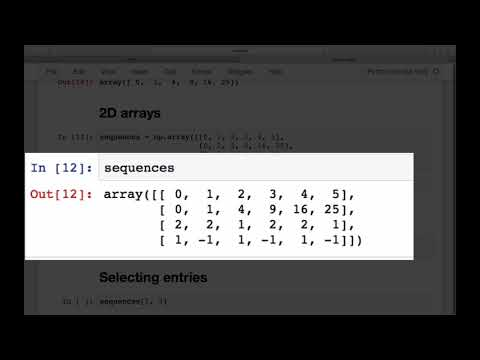 NumPy arrays: what they are & how to slice 'em