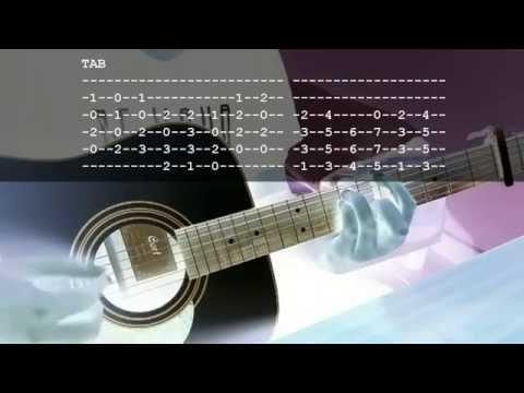 NIGHTMARE / Alumina [ACOUSTIC GUITAR LESSON]