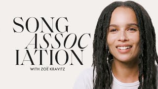 Zoë Kravitz Sings Prince, Radiohead And Neil Diamond In A Game Of Song Association | Elle