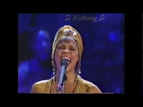 Whitney Houston (LIVE) 'I Have Nothing' w/lyrics