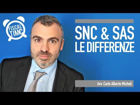 SNC E SAS: