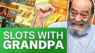 🔥STREAM CASINO / CRAZY GRANDPA PLAYING SLOTS AND WIN ALL MONEY (ger)