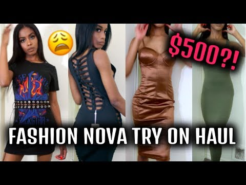 Fashion Nova WHY 😩?!: Huge $500+ Petite Girl Fashion Nova Try On Haul | Jeseniá Cheveria