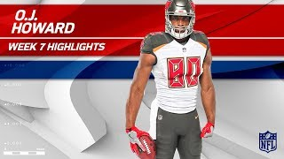 O.J. Howard Snags 2 TDs & Nearly 100 Yards!   Buccaneers vs. Bills   Wk 7 Player Highlights