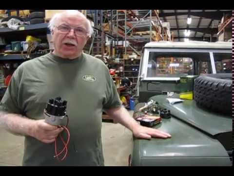 Land Rover Series Upgrade Electronic Ignition - YouTube