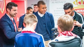 Le rêve de deux jeunes fans écossais... - AS MONACO