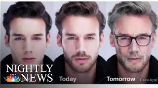 Growing Popularity Of Photo Editing App Sparks Privacy Concerns | NBC Nightly News