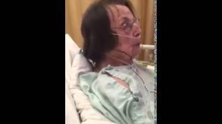 "The nurses breath smells like ""HORSE SHIT"""