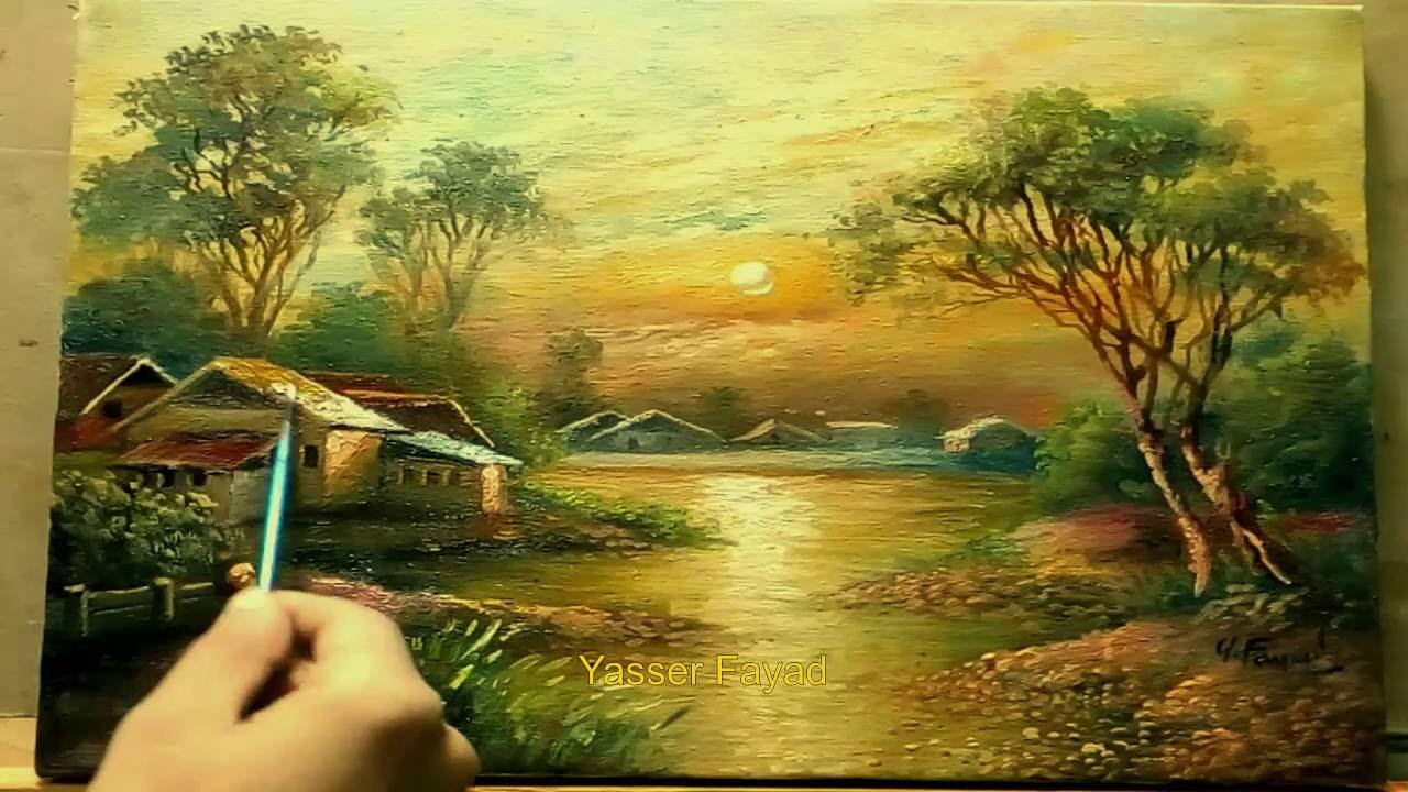 The Magic Of Oil Painting Youtube