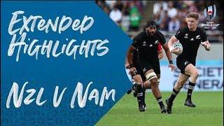 東京スタジアムで行われた一戦。 大会3連覇を狙うニュージーランド代表に、ナミビア代表が挑みました。 #RWC2019 #NZLvNAM #RWC東京.