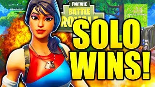 HOW TO GET SOLO WINS FORTNITE TIPS AND TRICKS! HOW TO GET BETTER AT FORTNITE PRO TIPS!
