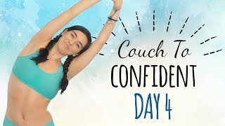 Day 4 ♥ Yoga for Confidence & Balance, Leg & Glute Strength, 20 Minute Class