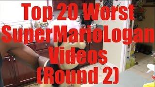 Top 20 Worst SuperMarioLogan Videos (Round 2)