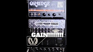 Orange Dark Terror Vs Mesa Boogie Mini Rectifier Vs Victory Countess V30