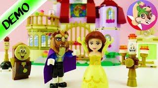 Lego zestaw Piękna i Bestia - Zamek i figurki | Unboxing i budowa