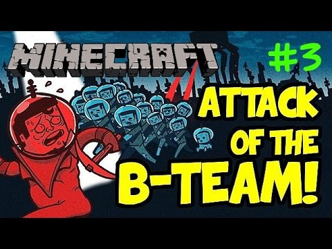 Minecraft Modpack Attack of the B Team Episode 3: It was a puddle!