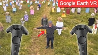 The WEIRDEST Things Found on Google Earth VR Street View..