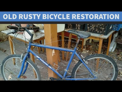 Salvage Bike Restoration