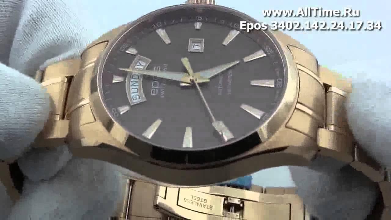 Часы Epos 3402.142.24.17.34 Часы Romanson DL5146SMW(WH)