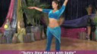 Belly Dance Slow Moves with Sadie