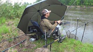 Фидер на Реке Мокрая Рыбалка