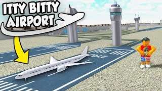 FLYING BIG PLANES - Roblox Itty Bitty Airport #3