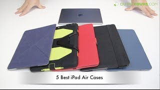 5 Best iPad Air Cases - Moshi,Griffin,Speck,Incipio,Belkin..