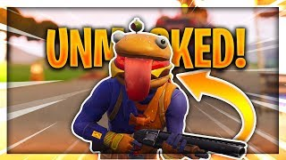 *NEW* Beef Boss Unmasked!!! | Fortnite Skins Faces Revealed