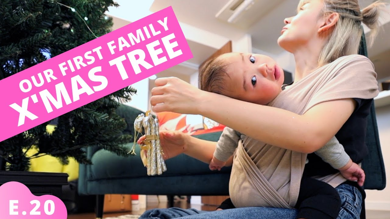 First Family Christmas Tree in Japan Ep.20