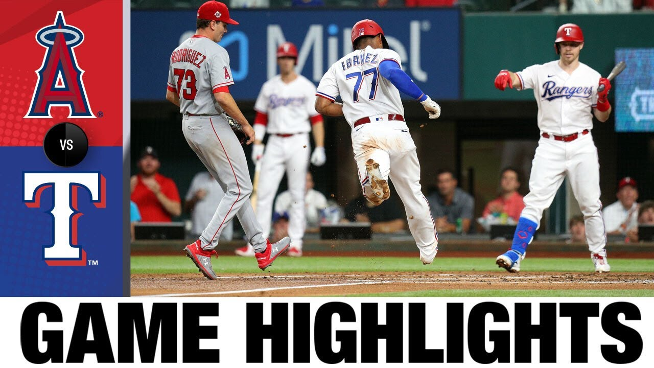Download Angels vs. Rangers Game Highlights (8/2/21)   MLB Highlights