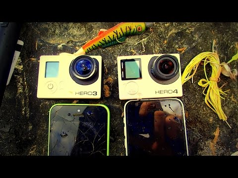 River Treasure: 2 GoPro's, 2 iPhones, Fishing Tackle and MOA