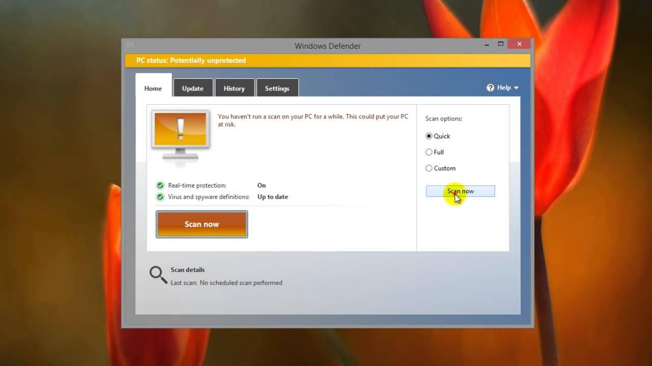 Windows 10 Defender - Free Microsoft Antivirus
