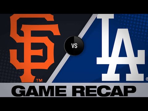 Dodgers belt 3 homers in 9-8 victory | Dodgers-Giants Game Highlights 6/20/19