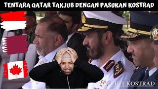 Download lagu TENTARA QATAR TAKJUB DENGAN PASUKAN KOSTRAD Reaction | Indonesia & Qatar Reaction | MR Halal Reacts