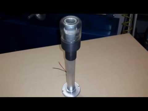 Led 39 s diy homemade farol de jardin casero con leds youtube - Lamparas solares de led ...