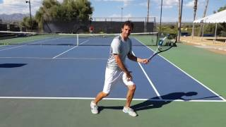 How to Properly Set Up Your Feet on the Return of Serve (Your Return - Episode 20)