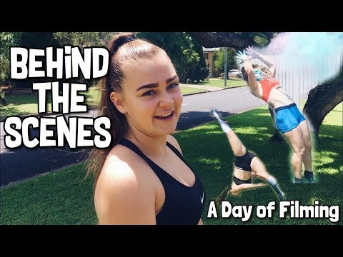 A Day in the Life | Behind the Scenes | Filming Tumbling Videos