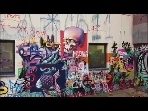 Graffiti am Schlachthof