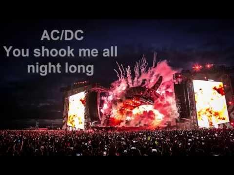 You shook me all night long-AC/DC-[lyrics video] special