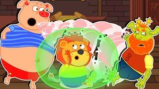 Lion Family 🧝 Fairytale: Spiderwick Chronicles | Cartoon for Kids