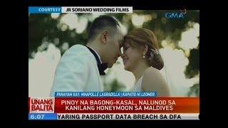 UB: Pinoy na bagong-kasal, nalunod sa kanilang honeymoon sa Maldives