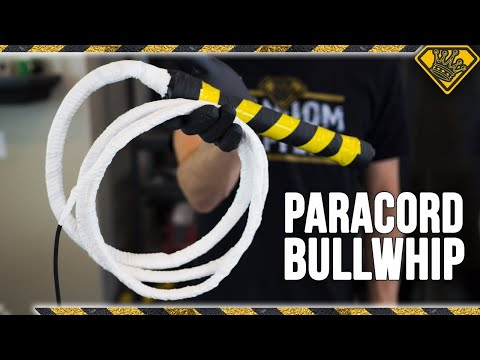 How To Make a Paracord Bullwhip (like Indiana Jones!)