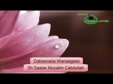 Sh Saalax Mucalim - Dabeecada Wanaagsan