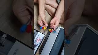 HP9010 대용량무한잉크공급기 개봉후 팩스복합기 루어…