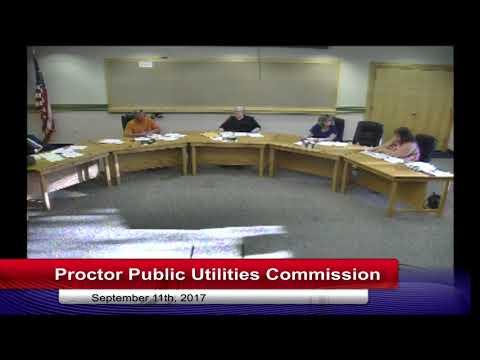 Proctor Public Utilities Commission 2017 09 11