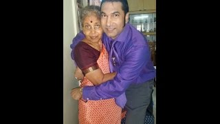 SANJAY KUMAR SR. with DEAREST MOTHER~in~LAW: INDIRA AUNTY | VISAKHAPATNAM AIRPORT, INDIA