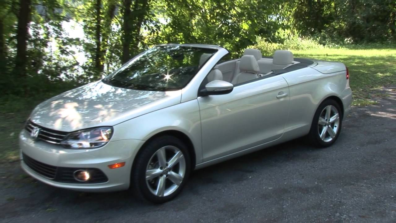 2012 volkswagen eos drive time review youtube. Black Bedroom Furniture Sets. Home Design Ideas