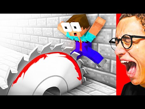 Watching The MOST HILARIOUS MINECRAFT ANIMATIONS! (YOU WILL 100% LAUGH)