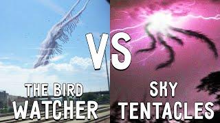 СМОТРИТЕЛЬ ПТИЦ ПРОТИВ НЕБЕСНЫЕ ТЕНТАКЛИ В МАЙНКРАФТ THE BIRD WATCHER VS SKY TENTACLES MINECRAFT